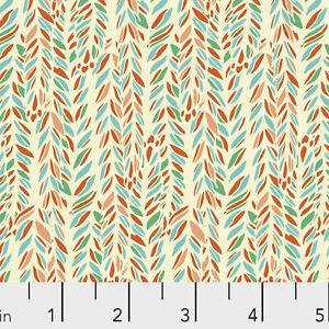Marabella Contemporary Vine Free Spirit Cotton Quilt Fabric PWAR028 MONARCH