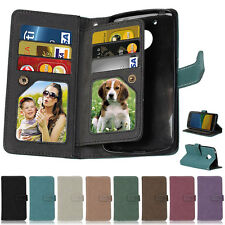 Matte Photo 9 Wallet Leather Flip Case Cover For Motorola Moto E3 X3 3nd Z Play