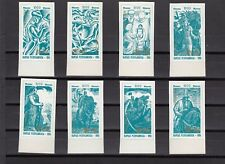 a107 - KYRGYZSTAN - SG62-69 MNH 1995 MILLENARY OF MANAS - IMPERF