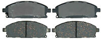 Disc Brake Pad Set-Ceramic Disc Brake Pad Front ACDelco Advantage 14D691CH