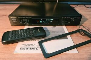 Vintage Technics ST-X302L Stereo AM FM Radio Tuner HiFi Separate + Remote #2