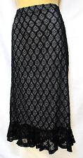plus sz XXS / 12 TS TAKING SHAPE Finite Lace Skirt Ltd Edition stretch sexy NWT