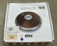 Gill Athletics 1.75K Training Size Competitor Wood Discus FREE Shipping