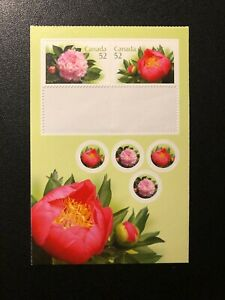 CANADA 2008 FLOWERS,  Sc 2262a , MNH