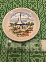 Vintage Silderogeri Bornholm Denmark Mini Ceramic Decorative Plate FREE SHIPPING