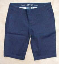 Women's Apt. 9 Bermuda Dark Blue Jean Shorts Size 4