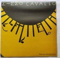 MIMMO CAVALLO LP STANCAMI STANCAMI MUSICA 33 GIRI ITALY 1982 LPX 112 NM/NM