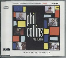 """PHIL COLLINS - Two Hearts 3""""CD SINGLE 2TR (WEA) 1988 GERMANY PRINT"""