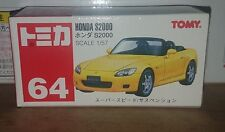 Tomica #64 Honda S2000 (old red TOMY logo)