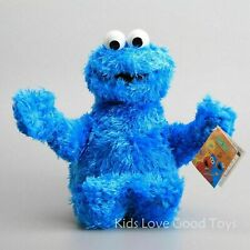 Sesame Street Cookie Monster Furry Plush Soft Doll Cuddle Stuffed Toy
