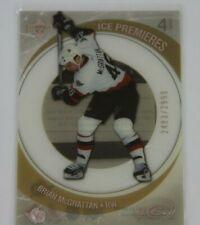 05/06 UD ICE Hockey Ice Premieres Brian McGrattan 2483/2999