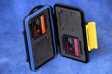 TWO Fast Sandisk Extreme 8GB 60MB/s CF Memory Cards w/ Waterproof Case (16GB)