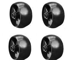 ( 4 pack) Cub Cadet Mower Deck Wheels - RZT 50, RZT 54, RZT S50, RZT L50,