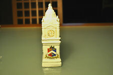 CRESTED CHINA MINIATURE CLOCK TOWER - 'MARGATE'
