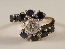 Echtschmuck-Ringe im Cocktail mit Diamant für Damen