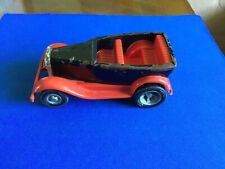 Vintage Red And Black, Metal And Plastic Tonka Car