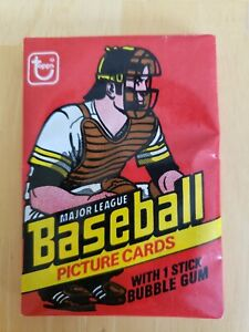 1978 Topps baseball wax pack