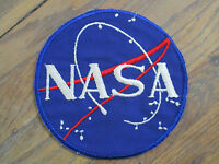 vintage 1963 NASA Vector Patch Employee Only Astronaut Assistant USA Made MINT