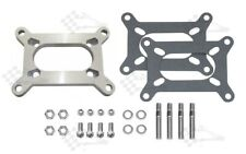 Carb Adapter Kit - Large Holley 2 bbl To Rochester 2 bbl Manifold