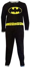 DC Comics Batgirl Batman Non Footed Pajamas One Piece w Cape NEW S / M LAST ONE