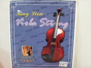 "Brand New KING LION Viola String Set (size 14"", 15"", 16"")"