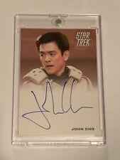 2009 Star Trek Sulu John Cho Autograph Card!