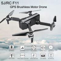 SJRC F11 GPS 5G WiFi FPV 1080P HD Cam Foldable Brushless RC Drone Quadcopter E