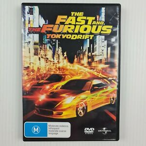 The Fast And The Furious Tokyo Drift DVD - Region 2,4,5 - TRACKED POST