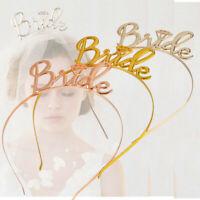 Team Bride Bridesmaid Headband Bride To Be Tiara Crown Hen Party Wedding Gift