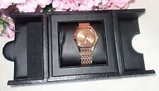 Timepieces by Randy Jackson SPORT ROSE GOLD Stainless S WATCH WRJ10053UA01HS NEW