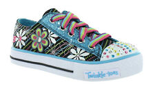 Skechers Twinkle Toes  S-Lights Dashing Daisy Trainers Size 2 £18.99 NO LIGHT UP