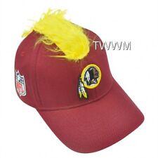 NFL Washington Redskins Spike Flex Fit Small Medium Mohawk Reebok Hat Cap Stret