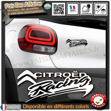 sticker autocollant citroen racing citroen sport c1 c2 c3 ds ds1 ds2 ds3