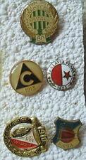 East European soccer pins Ferencvaros, Widzew Lodz, Slavia Praha & Sofia, Riesa