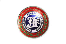Universal Japan Automobile Federation JAF 50th Badge For All Cars Front Grille