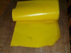 Schutztuch Schutzplane verstärkt f Mähwerke gelb 720 mm Grundpreis