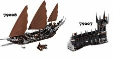 🔹NEW🔹 Lego The Lord of the Rings 79007 & 79008 Combo Sets 🔹NO MINIFIGURES🔹