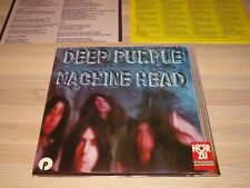 DEEP PURPLE LP + POSTER - MACHINE HEAD / 1972 GERMAN HÖR ZU 1st PRESS in MINT-