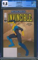 Invincible 1 (Image) CGC 9.8 White Pages Free Comic Book Day Reprint