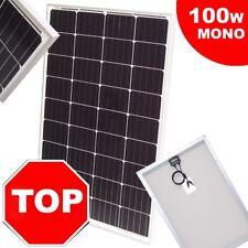 55419 Solarpanel Solarmodul 100W Solarzelle 12V Solar MONOkristallin Mono