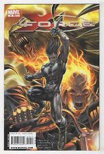 X-Force #10 (Feb 2009, Marvel) Domino, Ghost Rider, X-23, Warpath, Demon Bear o