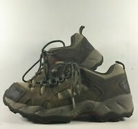 Columbia Tagori Trail Mens Size 9 Hiking Outdoor Shoe BM3477-255 Beige/Black/Red
