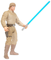 Star Wars Power of The Force Freeze Frame Luke Skywalker Bespin Action Figure