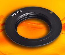 M42 Lente Zeiss practica Mamiya para Canon EOS Rebel Kiss EF EFS Anillo Adaptador de montaje