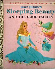 Little Golden Book D71 Disney Sleeping Beauty and the Good Fairies 1958