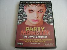 Party Monster: The Shockumentary (DVD, 2003) Fenton Bailey, Randy Barbato