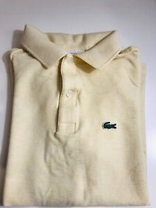 POLO LACOSTE SIZE 14 - YELLOW