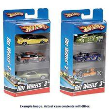 Hot Wheels Car 3-Pack 1:43 Scale