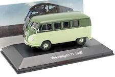 Volkswagen VW matrícula t1 año de fabricación 1956 verde pálido/verde 1:43 Altaya