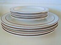 Vintage Japanese RSK Genuine Stoneware Plates 1 sml chip